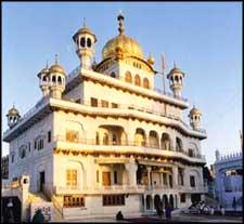 Akal Takhat Sahib in Amritsar