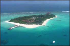 View of Maldives
