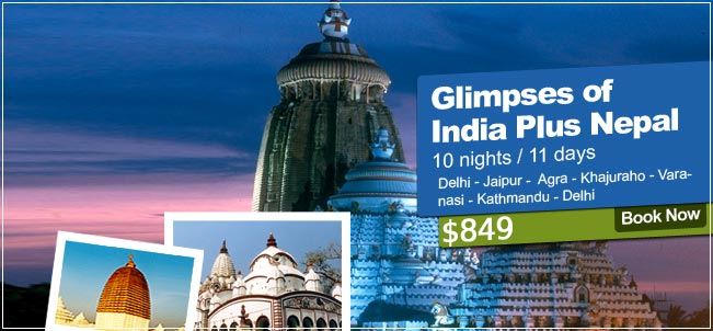 Glimpses Of India Plus Nepal