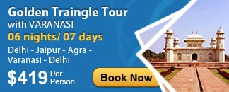 Golden Traingle Tour with Varanasi