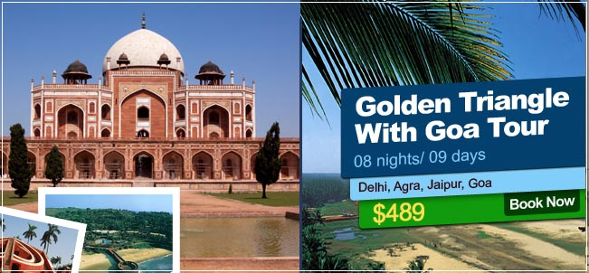 Golden Tringle With Goa Tour