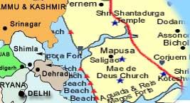 Tourist Map Of India Maps Of India India Travel Map India Tourist Map