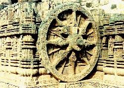 Wheels of Surya Temple